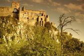 Ruinas de beckov — Foto de Stock
