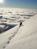 Climber in High Tatras — Stock Photo
