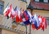 Flags — Stock Photo