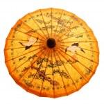 Sunshade with Thai ornament — Stock Photo
