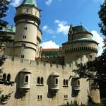 Castle in Bojnice, slovakia — Stock Photo