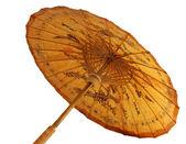 Sombrilla con ornamento tailandés — Foto de Stock
