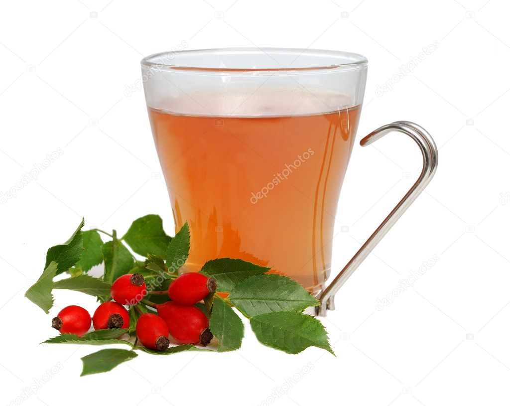 Cap of tea with darts isolated on white background — Stock Photo #2307090