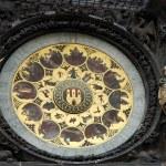 Astronomical clock in Prague — Stock Photo #2369706