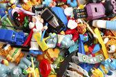 Muchos de los juguetes — Foto de Stock