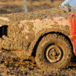 Stock Photo: Muddy car