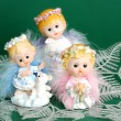 christmas angels — Stock Photo
