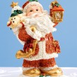 Santa Claus statuette — Stock Photo