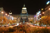 Wenceslas square, Praque — Stock Photo