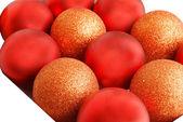 Balls christmas decoration — Stock Photo