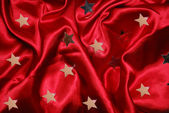 Red sateen — Stock Photo