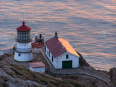 Lighthouse at point Reyes — Stock Photo