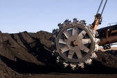 Rotor digger part — Stock Photo