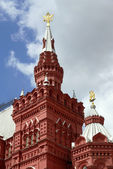 Moscow. Details of Historical Museum — Stock Photo