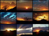 Arizona beautiful sunsets — Stock Photo