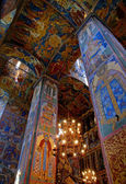 Frescoes of 17 century — Stock Photo