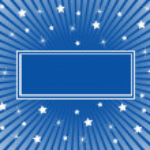 抽象的な背景が青白い星 — ストックベクタ