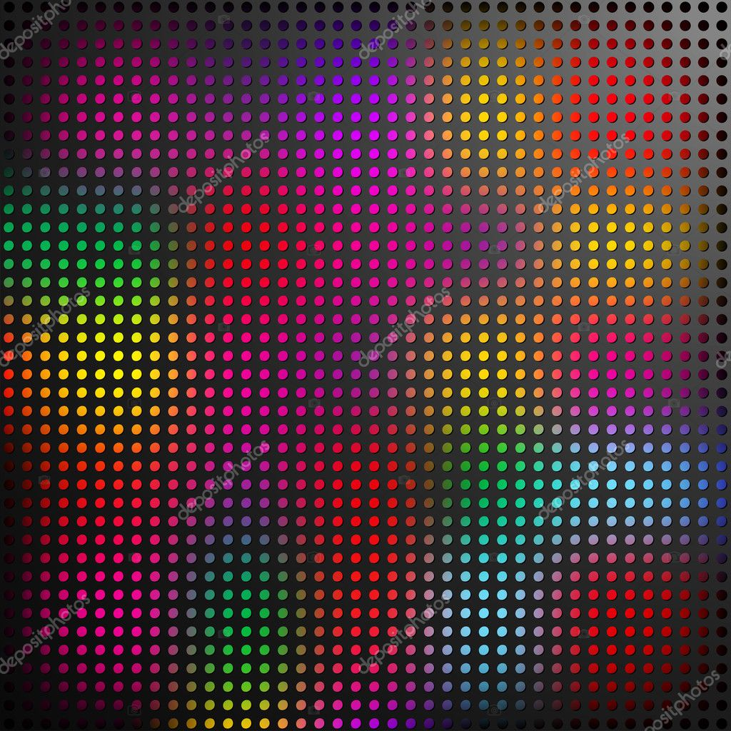 Abstract background with panel lit by coloured lights — Stock Vector #2238805