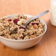 Bowl of muesli — Stock Photo #2223567