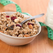Bowl of muesli — Stock Photo #2223595