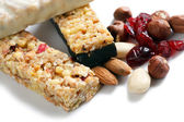 Muesli bars — Stockfoto
