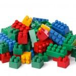 Plastic toy blocks — Stock Photo #2263317
