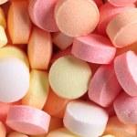 bunte bonbons — Stockfoto
