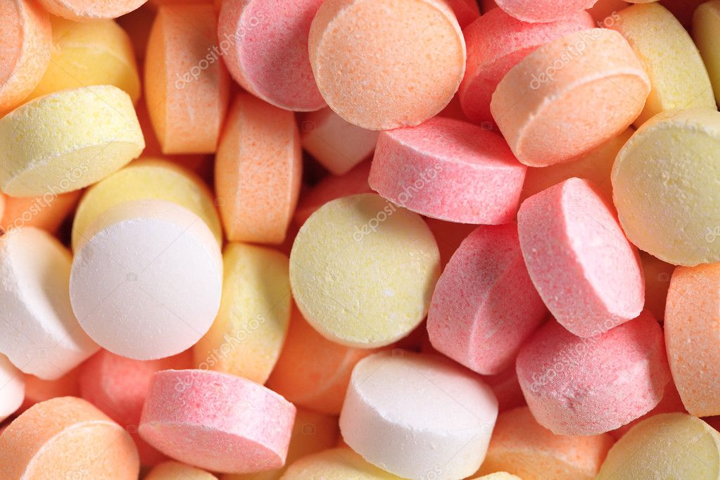 The photo shot of colorful candies — Stock Photo #2263897