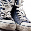 blue sneakers — Stock Photo #2274146