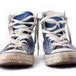Blue sneakers — Stock Photo #2274160