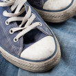 Sneakers and jeans — Stock Photo #2274577