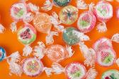 Kolorowe cukierki — Zdjęcie stockowe
