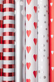 Rolls of wrapping paper — Stock Photo