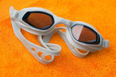 Swimming glasses — Stock Photo