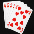 Foto Stock: Poker cards