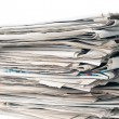 Stack of newspapers - Foto de Stock