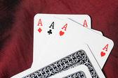 Poker cards — Stock Photo