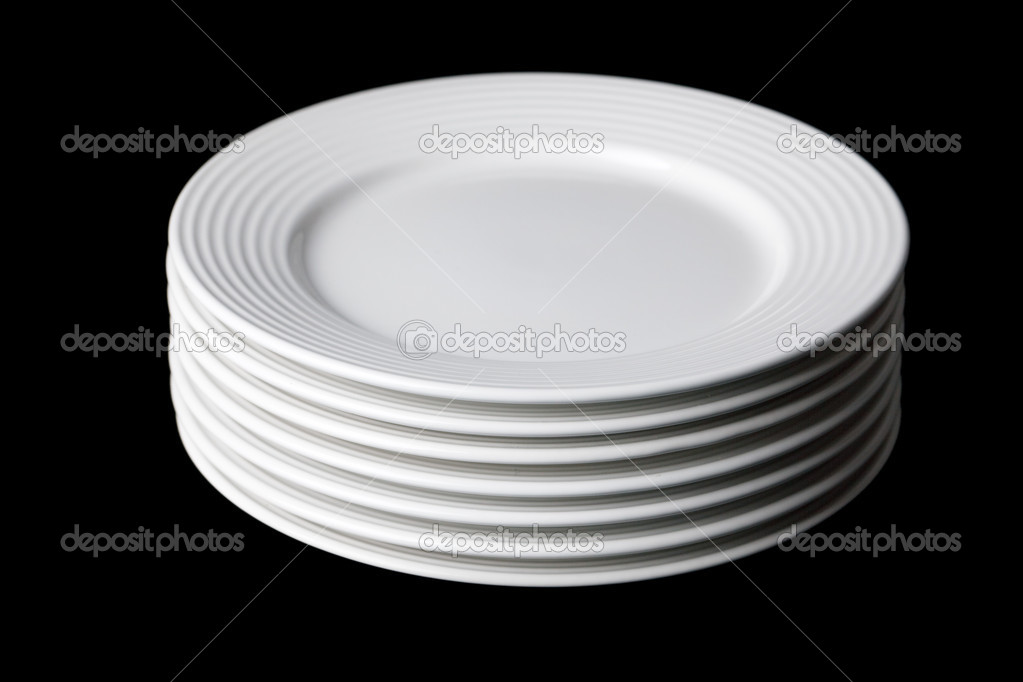 Background Plate Shots Photo Shot of White Plate on