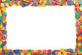 Coriandoli colorati — Foto Stock