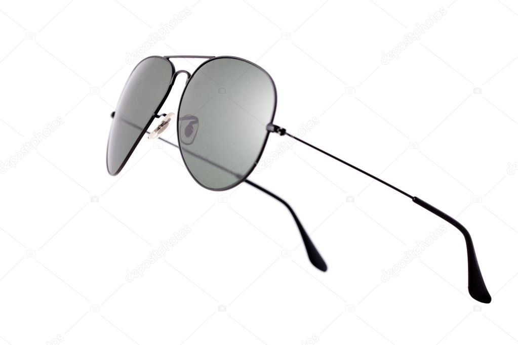 Photo shot of sunglasses on white background — Foto de Stock   #2521396
