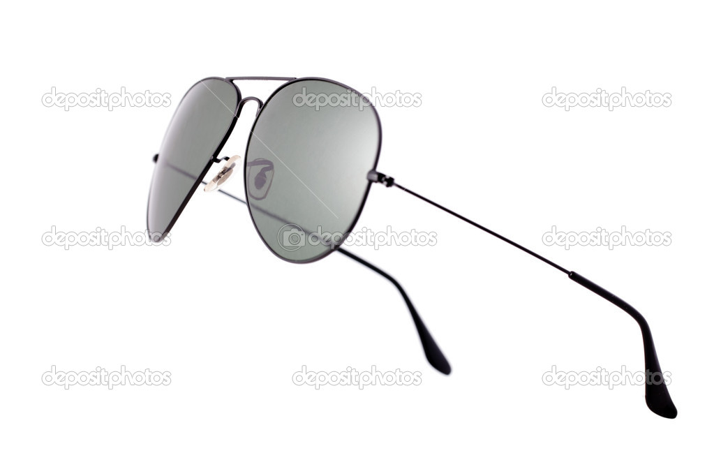 Photo shot of sunglasses on white background  Foto de Stock   #2521396