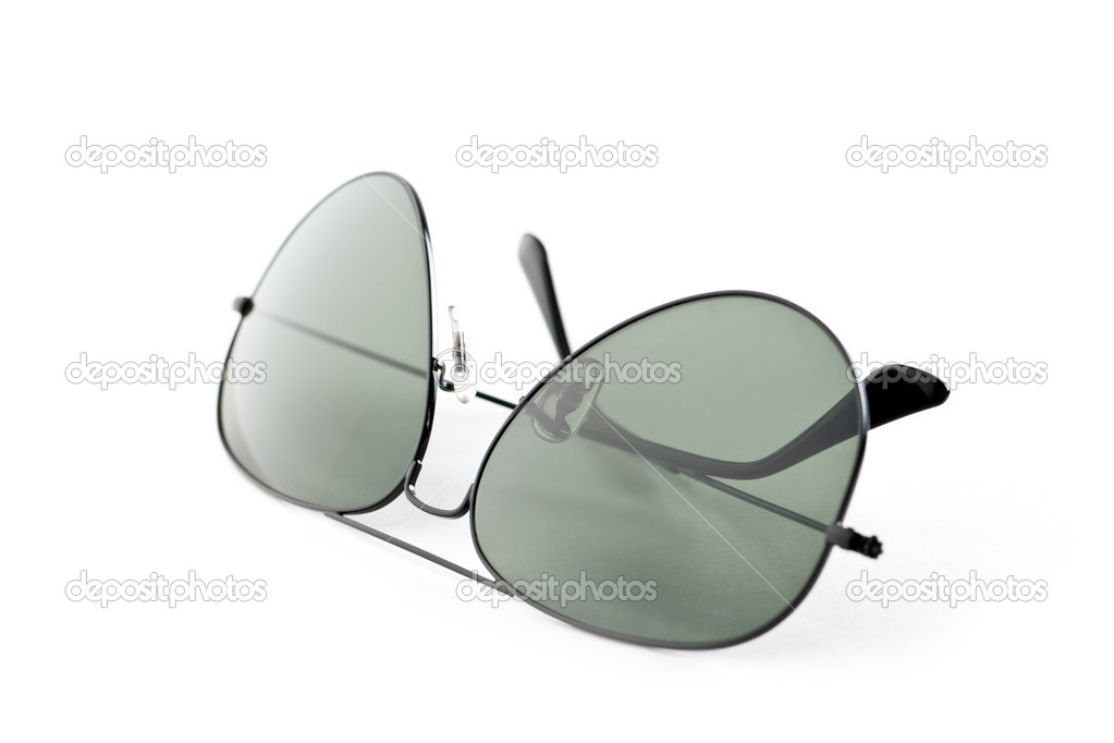 Photo shot of sunglasses on white background — Stock Photo #2521413