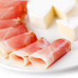 Royalty-Free Stock Photo: Prosciutto crudo ham