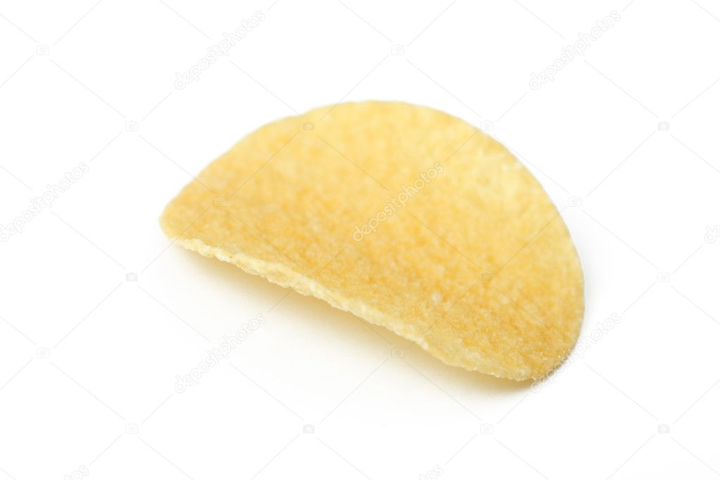 The photo shot of the potato chips — Stock Photo #2577884
