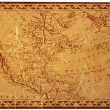 Ancient USmap — Stock Photo #2227980