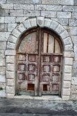 Ancient door — Stock Photo