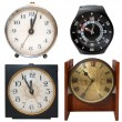 Set clocks — Stock Photo