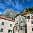 Foto Stock: Old town in Kotor, Montenegro