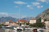 View of the town of Kotor. Montenegro — Stock Photo