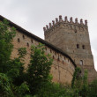 Stock Photo: Tower of old castle